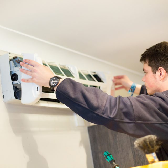 domestic air conditioning service