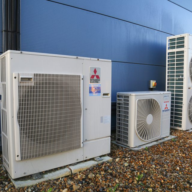 Mitsubishi air conditioning units